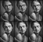 Portrait Practice 3 Process