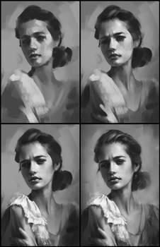 Portrait Practice 9 Process