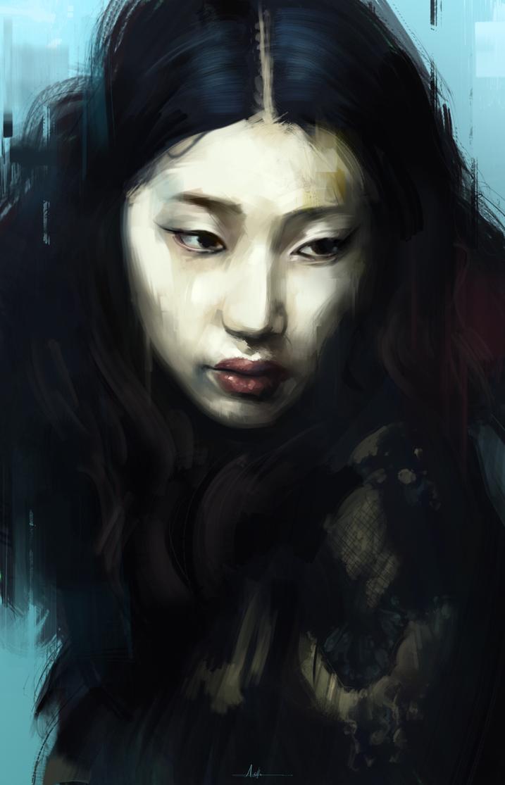 Portrait Practice 10 by AaronGriffinArt
