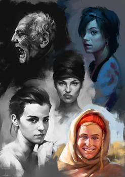 Face Studies 4