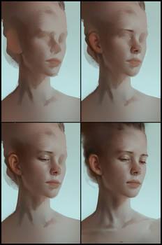 Portrait practice 11 process