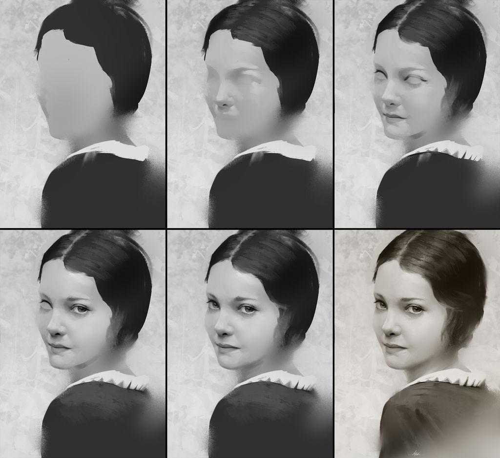 Portrait 12 Process