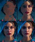 Barbara Palvin - Colour Study Process