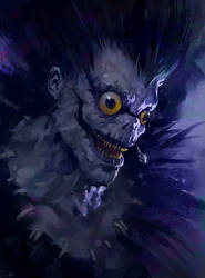 Ryuk by AaronGriffinArt