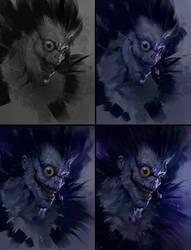 Ryuk-Process by AaronGriffinArt