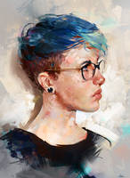 Colour Study 03 by AaronGriffinArt