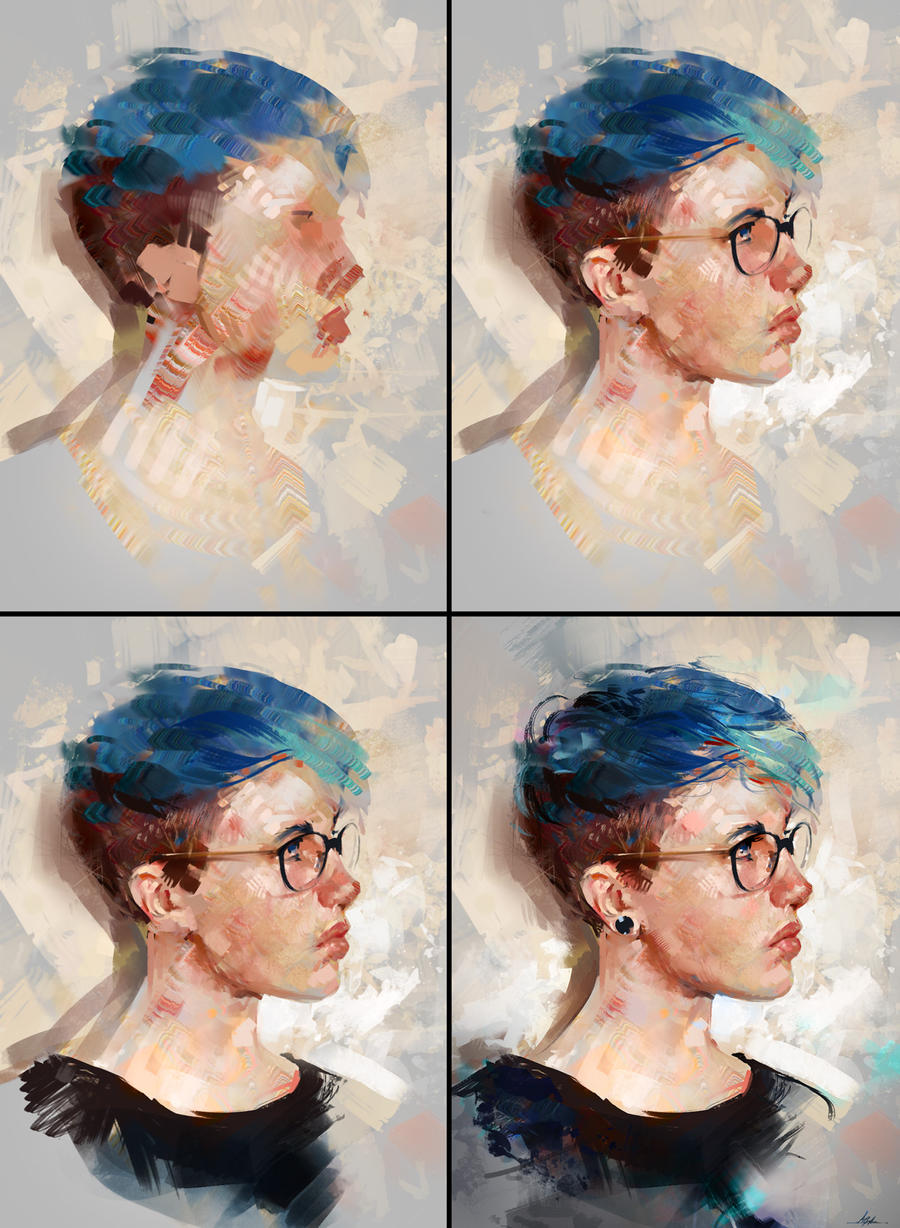 Colour Study 03 Process By Aarongriffinart On Deviantart