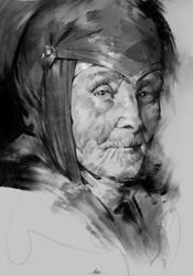 Septa Sketch by AaronGriffinArt
