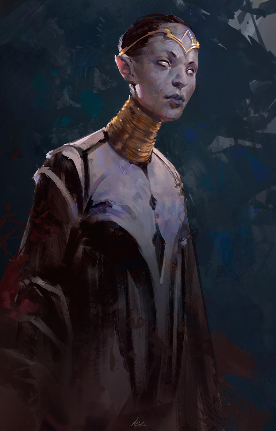 Character by AaronGriffinArt