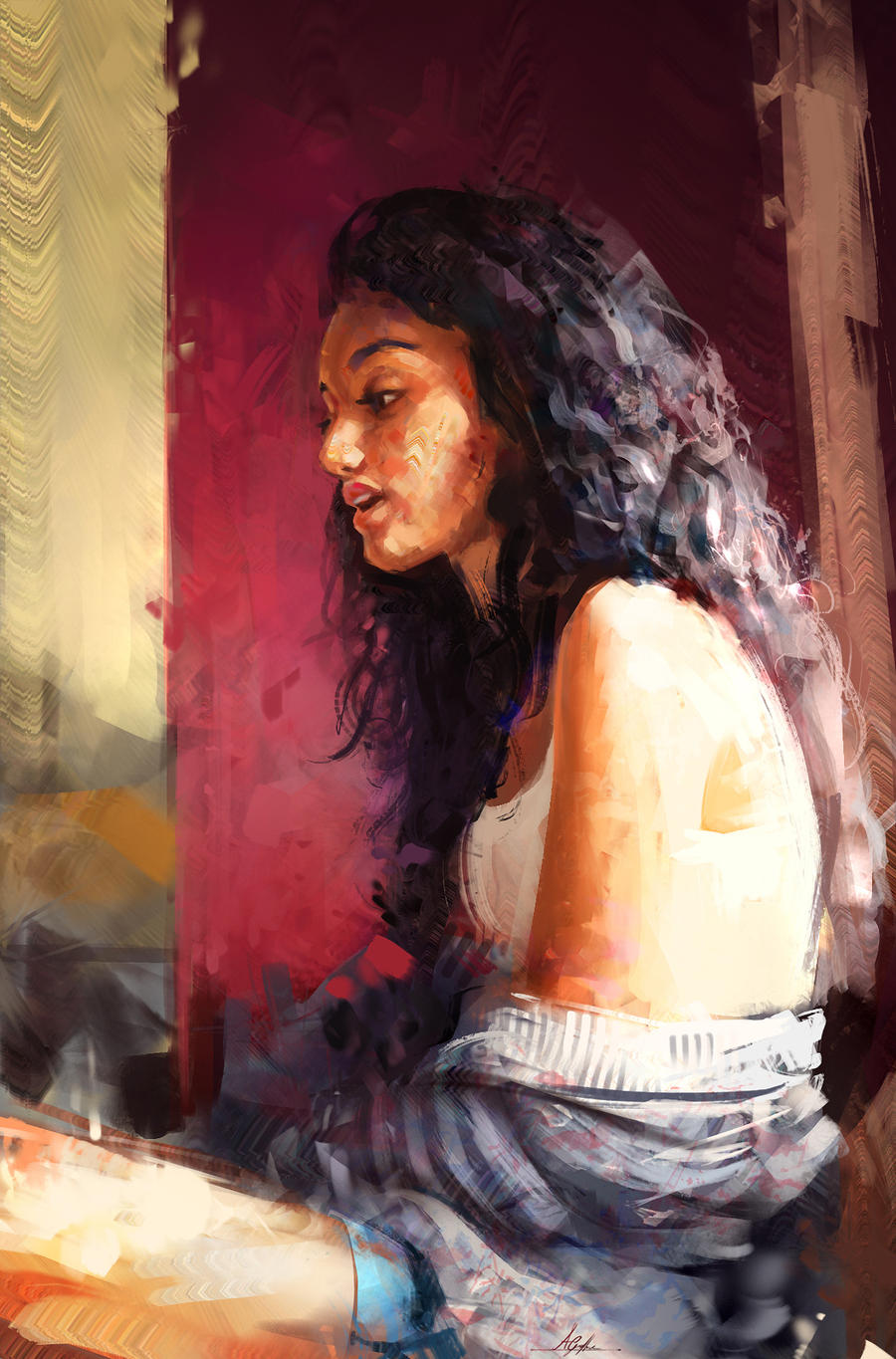 Colour and Light Study 2