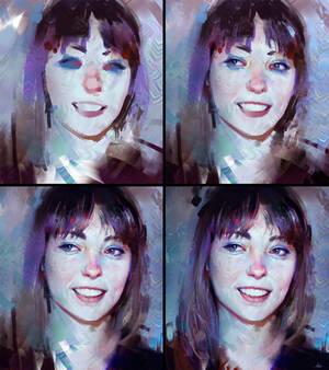 Angel Olsen Colour Study - Process