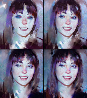 Angel Olsen Colour Study - Process