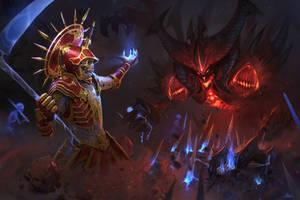Necromancer vs Diablo