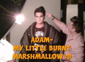 Adam my burnt marshmallow by nikomikocheekokiko