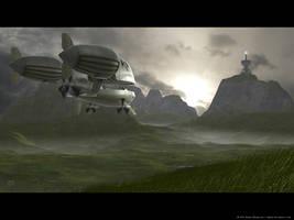 Airship 2 by JamesMargerum