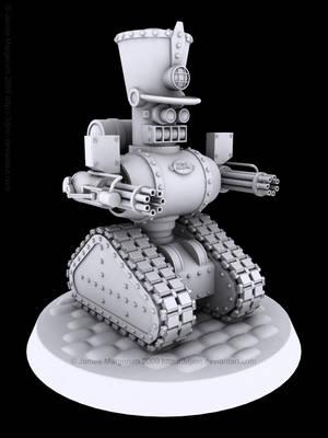 Steam Soldier by JamesMargerum