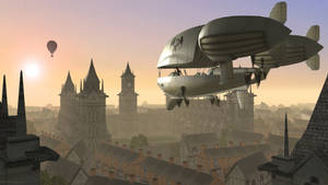 Airship by JamesMargerum