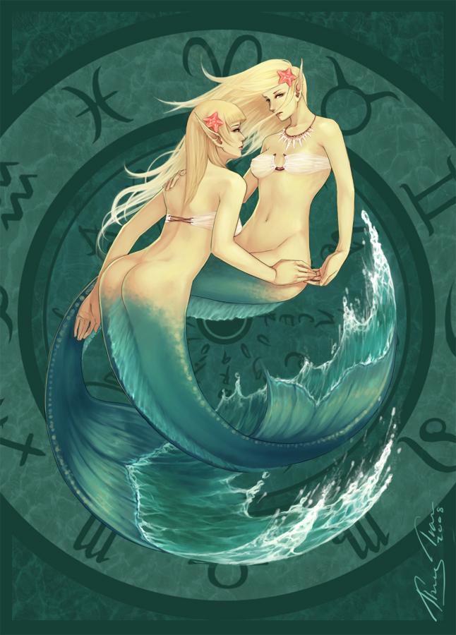 Zodiac Pisces By ThuyLTran