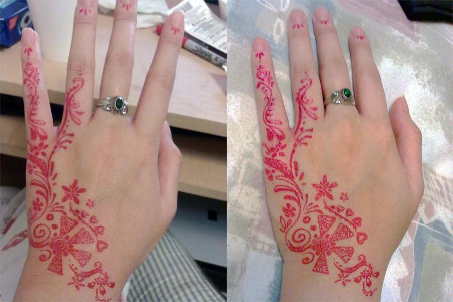 Sharpie henna by ThuyLTran on DeviantArt