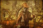 Hanging around my Pumpkins...