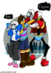 Undertale : Meet the Skeletons brothers