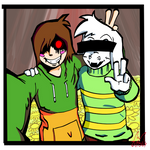 Undertale : Today, i met my best friend