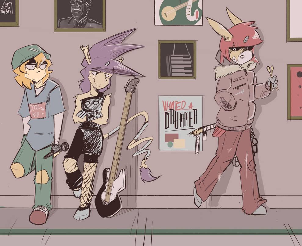 Jazz time by Jupony
