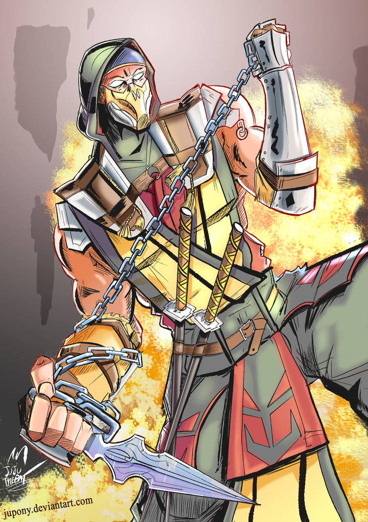 Mortal Kombat - SCORPION by Jupony