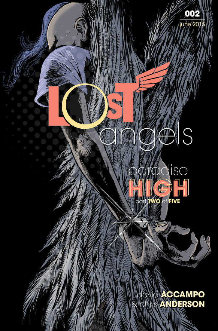 Lost Angels Cover #2 by cduck
