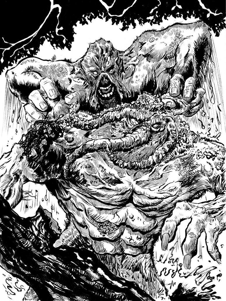 SwampMan by cduck