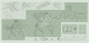 Horse Lineart Pack: Foal