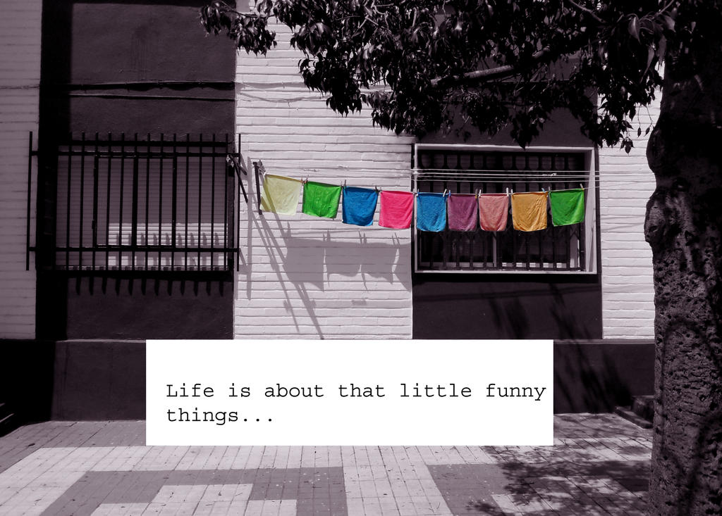 Little funny things by What-is-worth