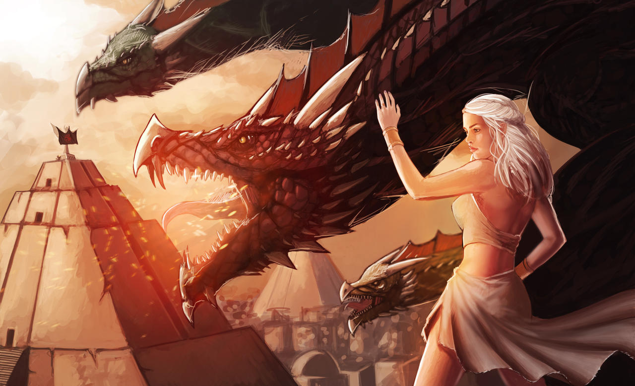 Mother of Dragons by DiegoVila