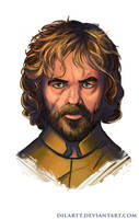 Tyrion Lannister by DiegoVila
