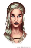 Daenerys Targaryen by DiegoVila