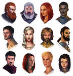 Game of thrones study faces