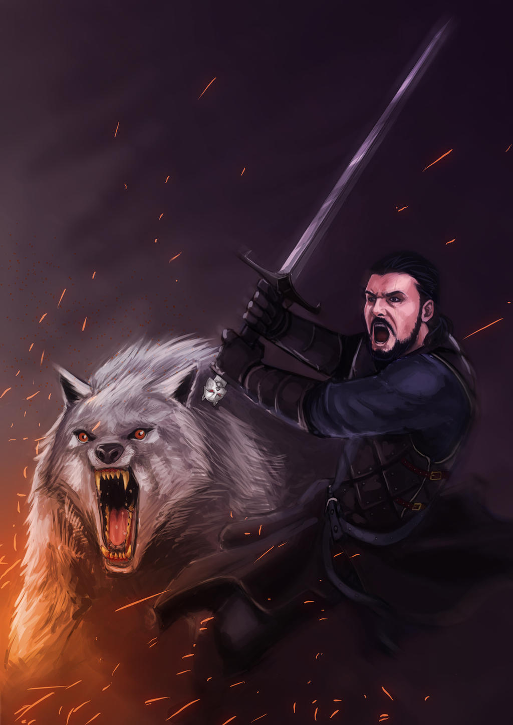 The King in the North! by DiegoVila
