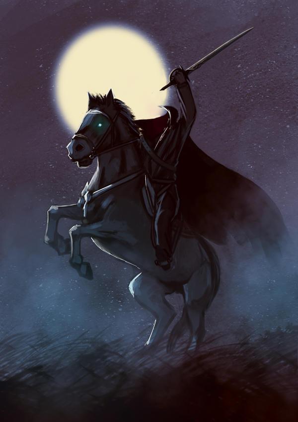 Headless Horseman by Dilartt