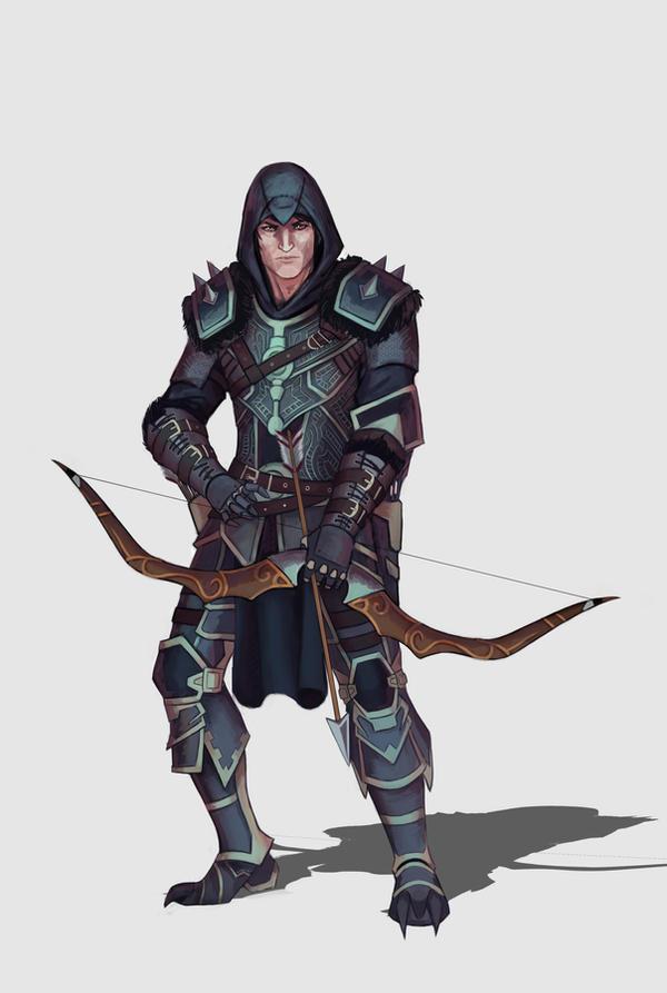 Ranger - Character design by DiegoVila