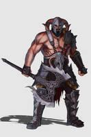 Barbarian - Character design