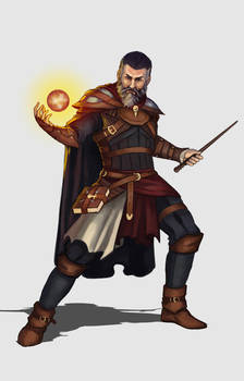 Mage - Character design