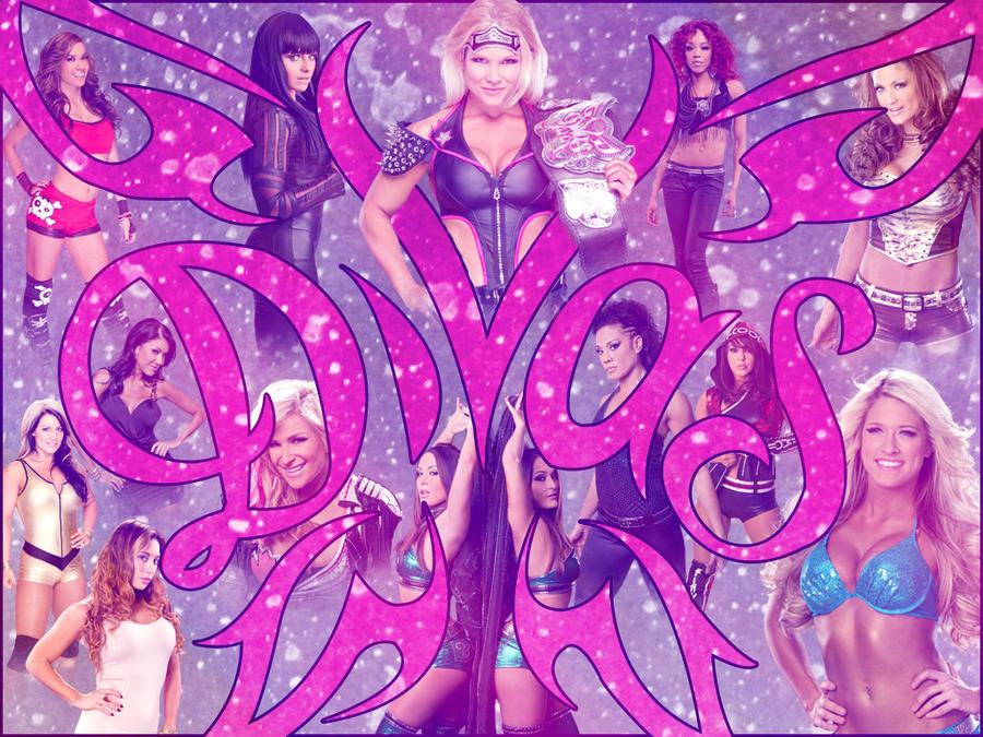 Wwe divas 2012 roster desktop wallpaper by nero forever
