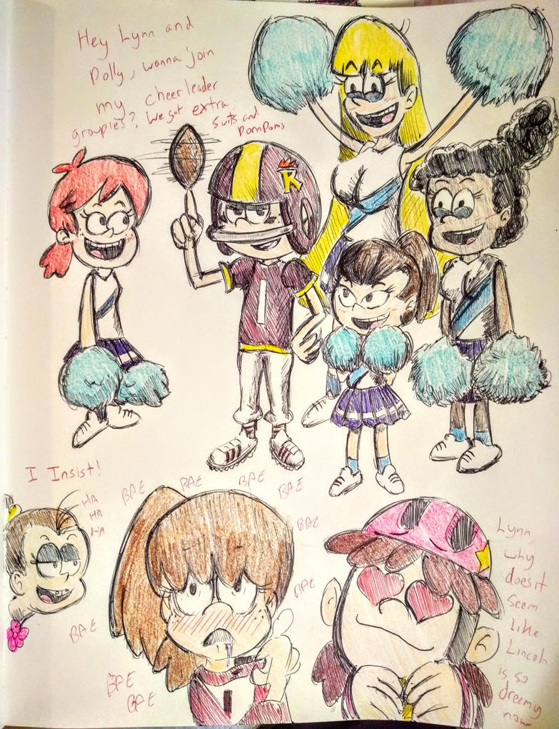 The Loud House Going Sports By Pikapika212 On Deviantart