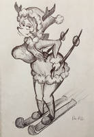 Sunday Pants Request - Ski Deer Girl