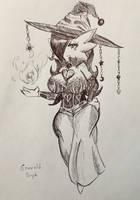 Pokemon - Emerald Witch Gardevoir by pikapika212
