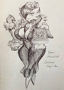 Pokemon X Ace Attorney - Gardevoir Angel Starr
