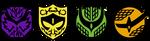 Kamen Rider Gaim Symbol Vector by AnotherAizen14