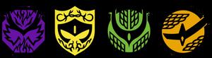 Kamen Rider Gaim Symbol Vector