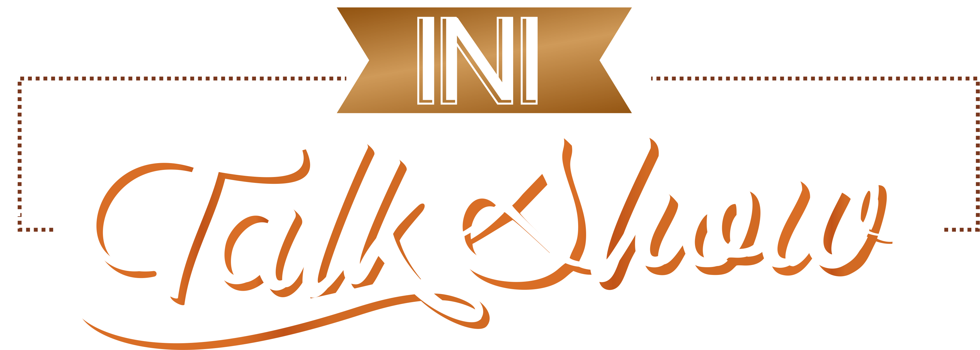 Ini Talk Show Logo Vector by AnotherAizen14