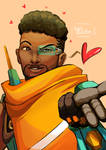 Baptiste Painting to celebrate his release!